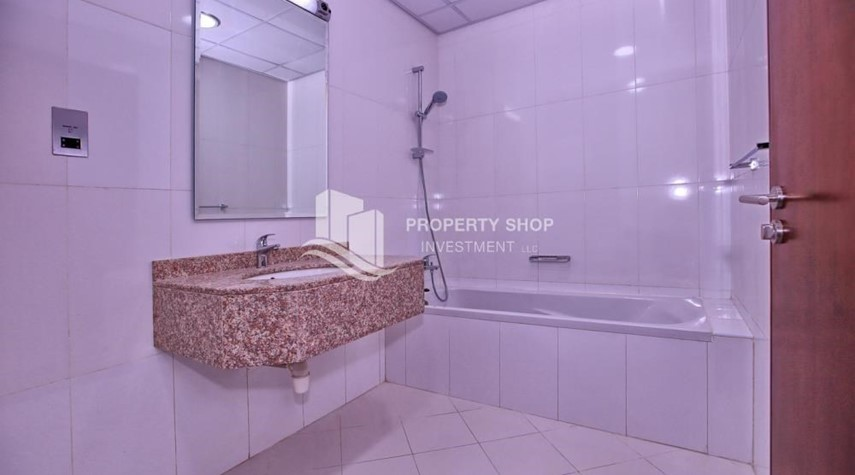Bathroom-Spacious 2BR Apt with High Investment Returns.