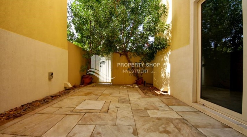 Back Yard-Single Row Luxurious TH with spacious Garden- Type S