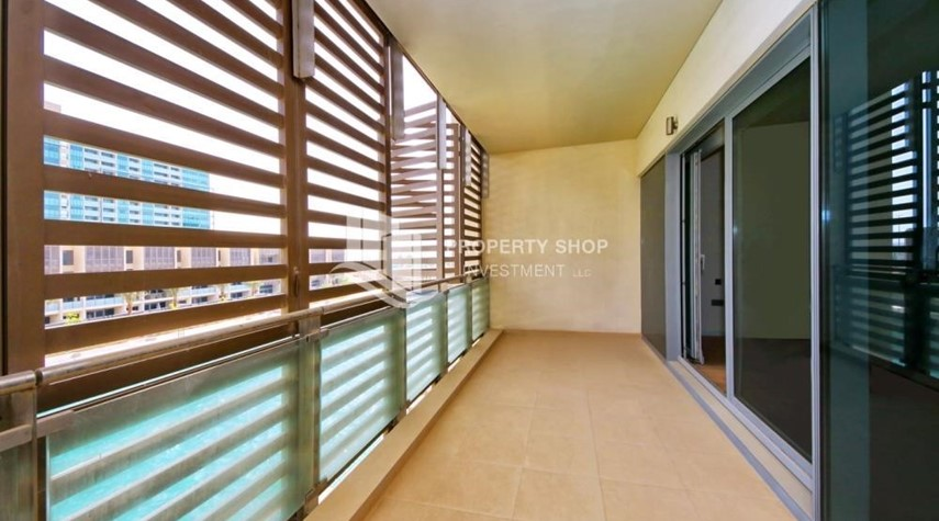 Balcony-A Prestigious 4BR Townhouse plus 2% Rent Free + 1 Month Rent Free in Al raha Beach!