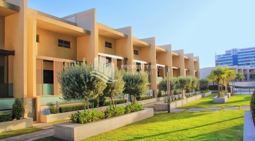 Property-A Prestigious 4BR Townhouse plus 2% Rent Free + 1 Month Rent Free in Al raha Beach!