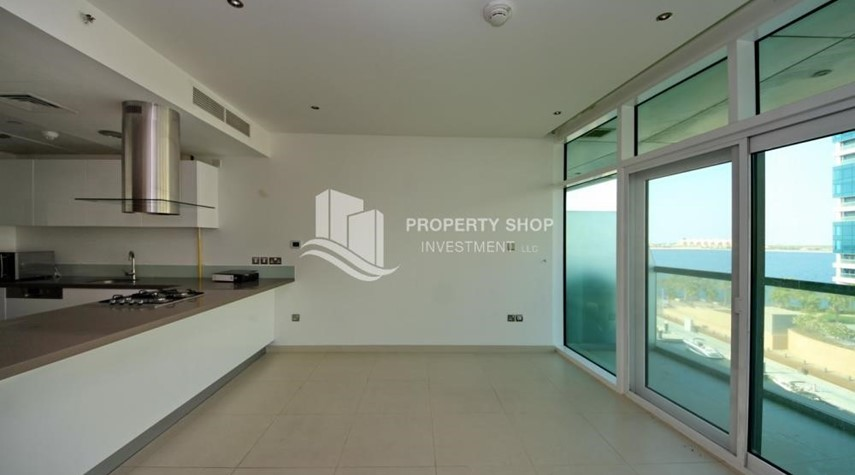 Living Room- 2 bedrooms with an  amazing view  in al bandar for sale