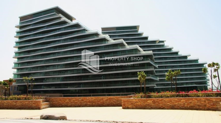 Property- 2 bedrooms with an  amazing view  in al bandar for sale