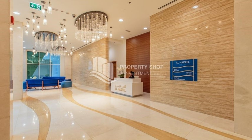 Lobby-Rent Refundable on Mid floor with amazing Sea View.