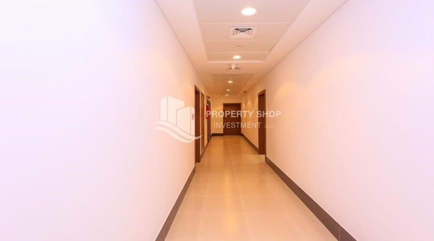 Corridor-Brand new 2BR Apt with breathtaking island view.