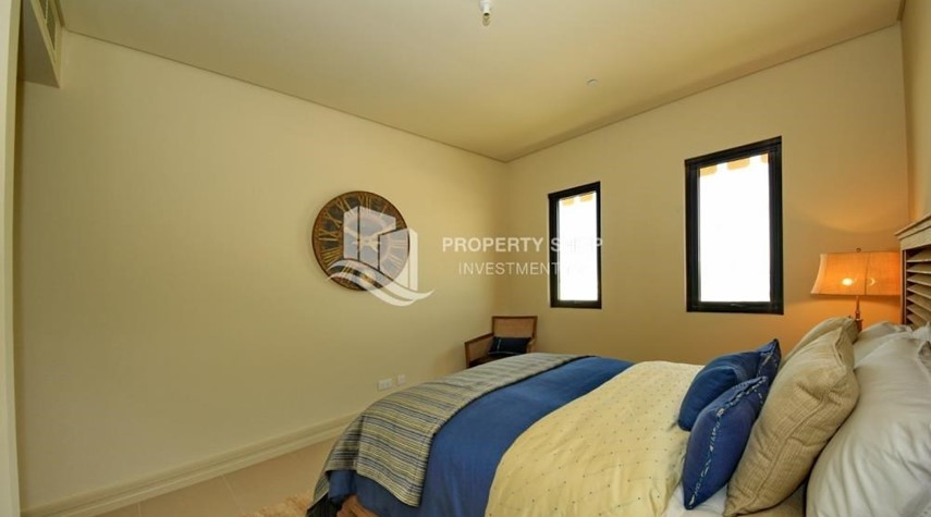 Bedroom-Zero Commission! Stunning 2BR+2 Balcony Apt. Available in Saadiyat Beach Residences!