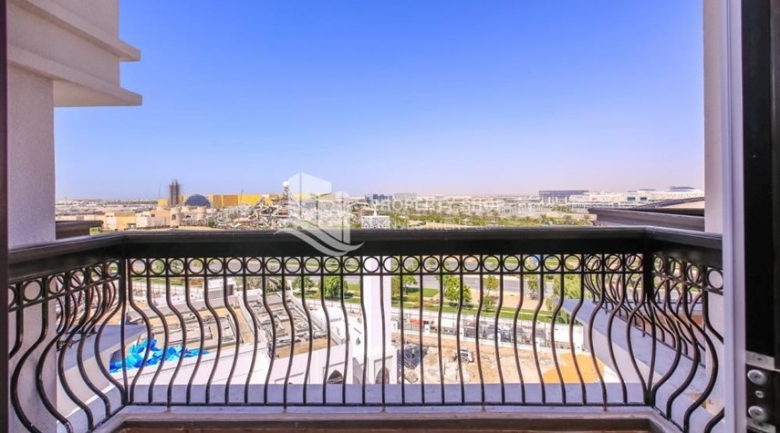 Balcony-Brand new 3BR unit with golf course view.