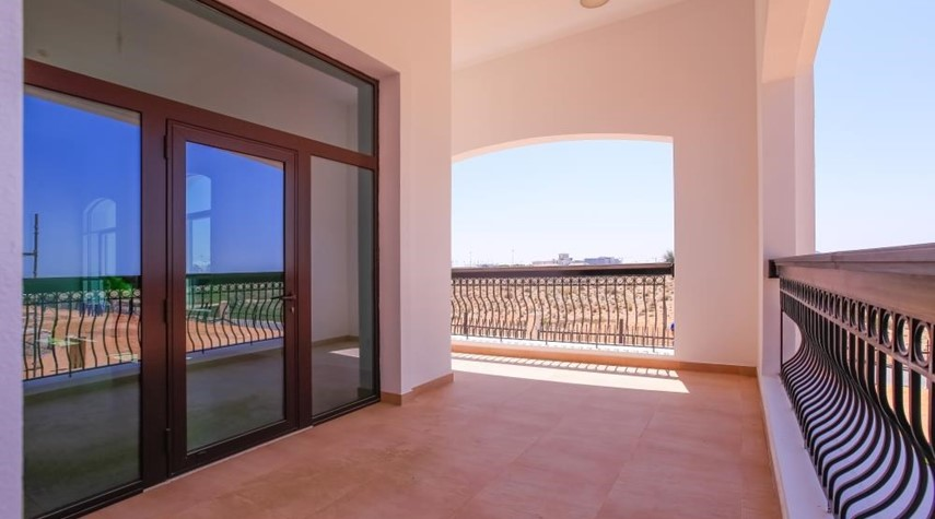 Balcony-Experience luxury in this exquisite property in Ansam.
