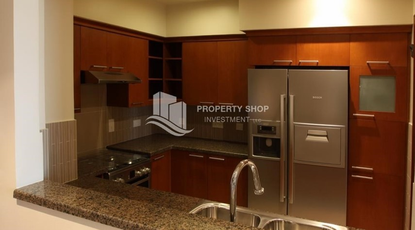 Kitchen-1 Bedroom Apartment in Amazing and beautiful Saadiyat Beach Apartments FOR RENT!