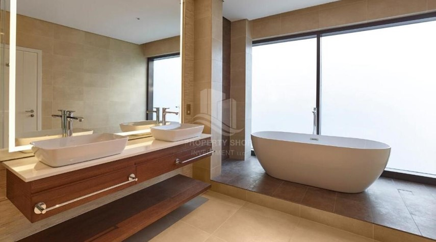 Bathroom-High End Middle Double Row Villa with Flexible payment plans