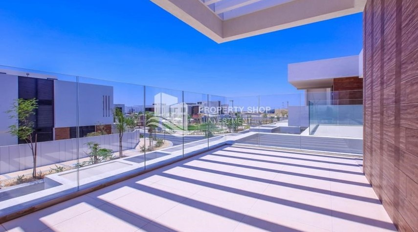 Balcony-5BR+M independent villa with terrace.
