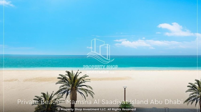 Community-4% Discount  on a Brand new investment opportunity in Mamsha Al Saadiyat. Call PSI to get details now.