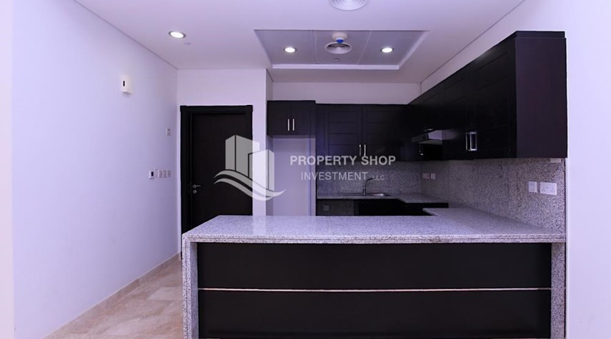Kitchen-High End New 2+M Apt with Louvre view.
