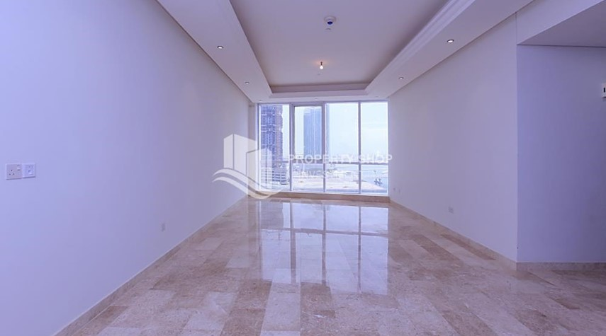 Living Room-High End New 2+M Apt with Louvre view.