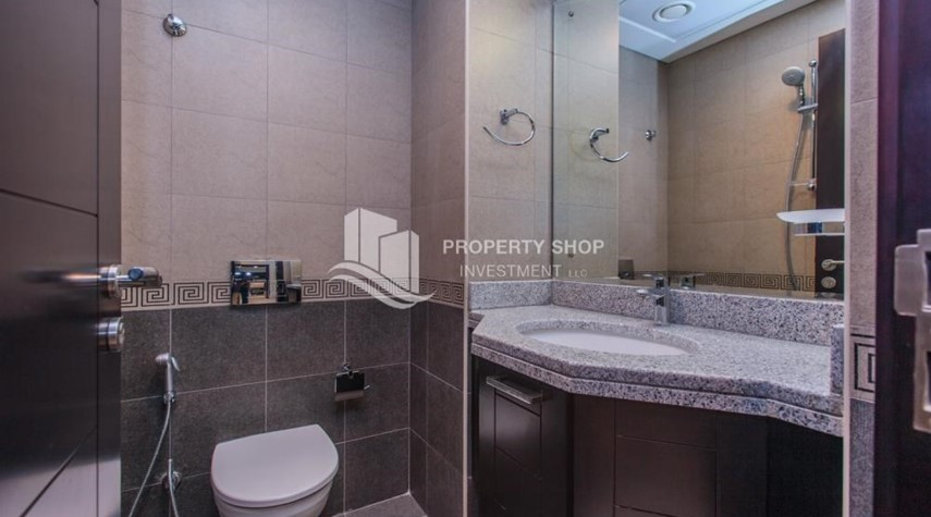 Bathroom-1 bedroom apartment for rent