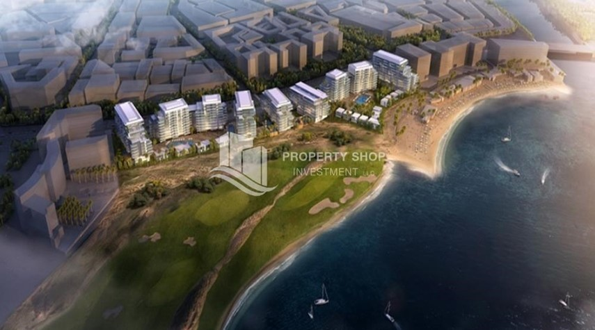 Community-Selling at original price full golf and sea view
