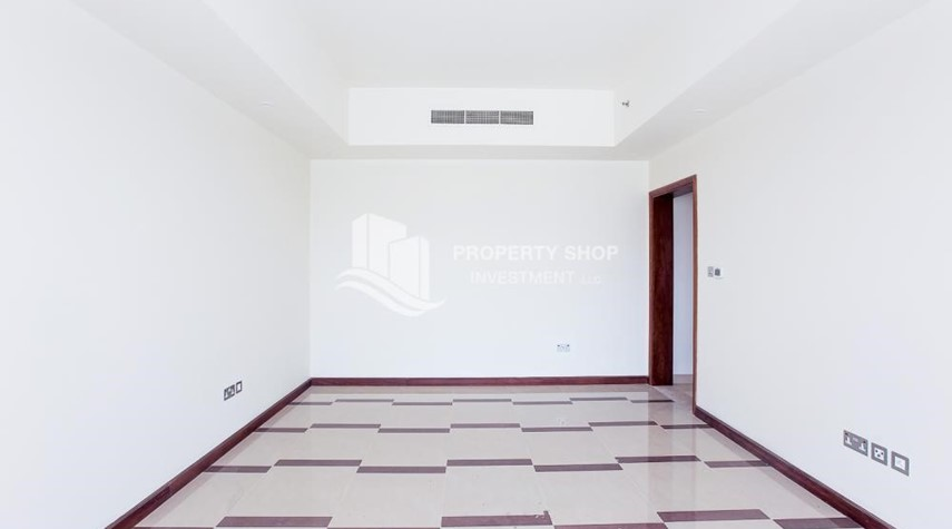 Living Room-Brand New, 2 Br apartment in Al Raha Beach