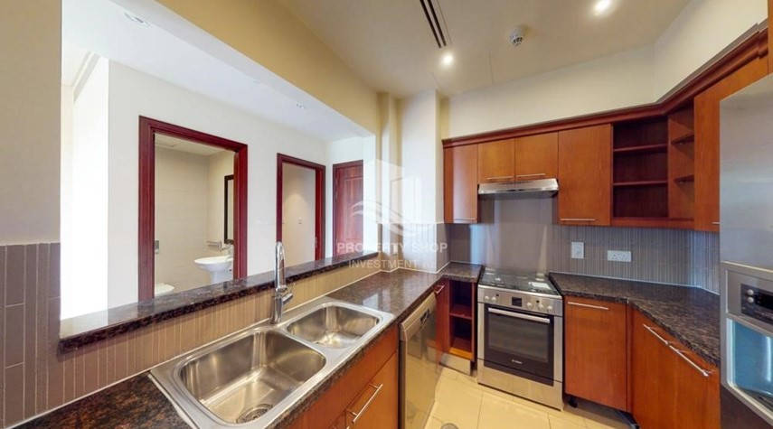Kitchen-Book1Br With High End Finishing.