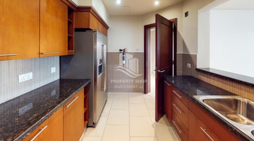 Kitchen-Dazzling 2Br High Floor-Premium Finishes.