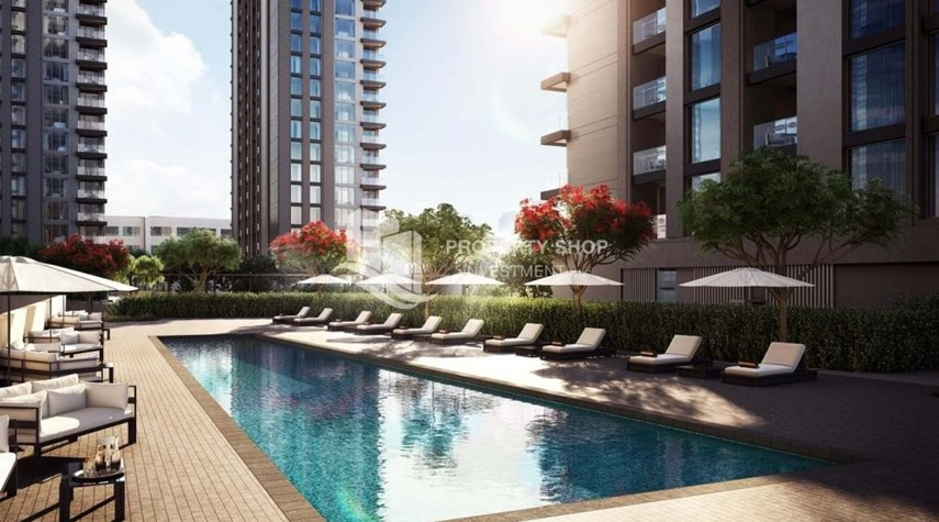 Facilities-3BR+M Apt in a brand new tower in Reem Island.