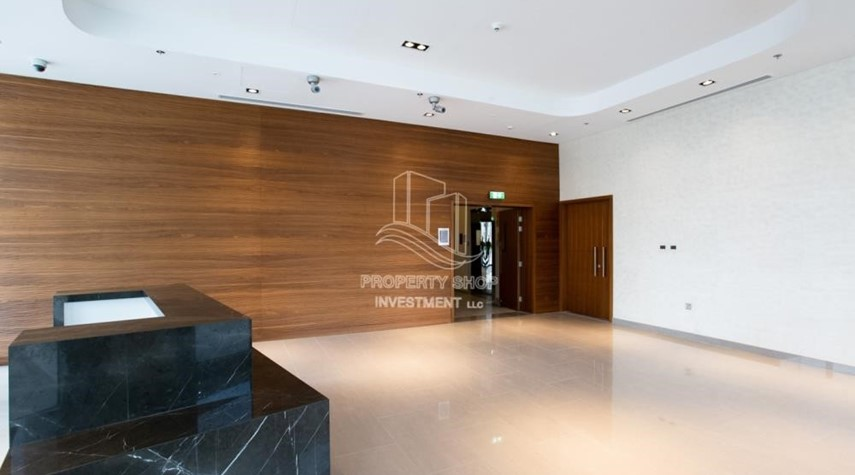 Facilities-1BR Apt in a brand new tower in Reem Island.