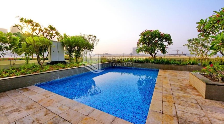 Facilities-High floor 2BR Apt with sea view.