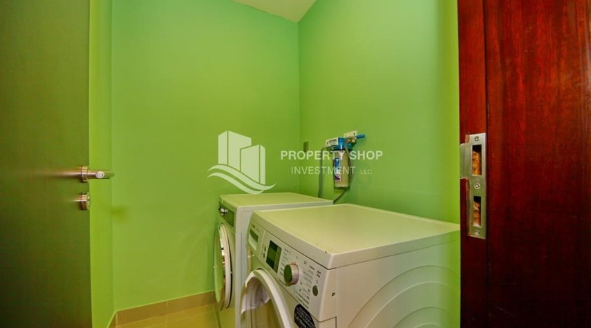 Laundry Room-3+M apt with balcony and sea view.