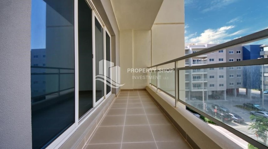 Balcony-Ideal 1 Bedroom apartment in Al Reef DownTown
