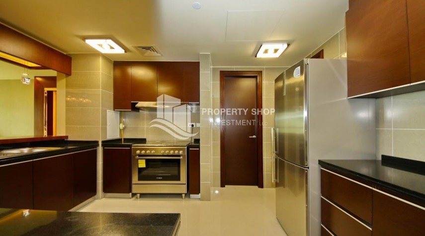 Kitchen-Spacious 3+Maids Room Apt with stunning views