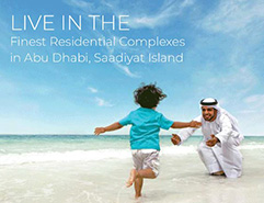 Live In The Finest Residential Complexes in Abu Dhabi, Saadiyat Island