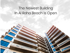 Open House.. For The Newest Building In Al Raha beach