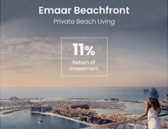 For the first time by Emaar..ROI upto 11%