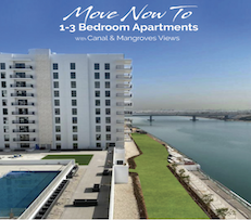 Water's edge | Ready to move in | 1-3 bedrooms | 10% Down payment