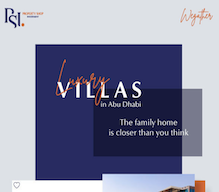 Own a luxury villa in one of top locations in Abu Dhabi. Discover with us