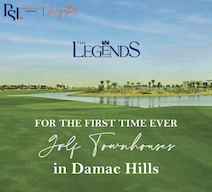 For the first time ever Golf Townhouses in Damac Hills