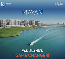 Own Golf & Sea view apartment in the newest project in Yas Island