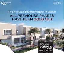 Own a townhouse in the fastest selling project in Town Square