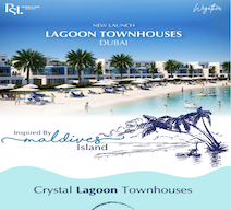 New Launch! Crystal Lagoon Townhouses with only 5% down payment and flexible payment plan